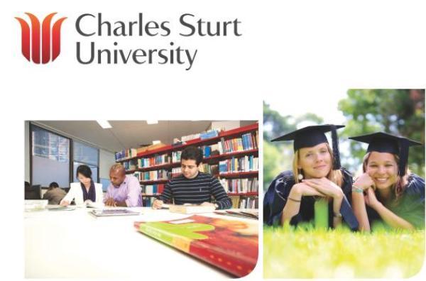 du học sinh trường Charles Sturt - Úc
