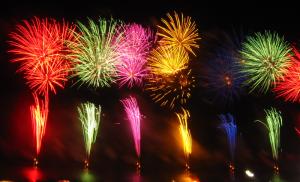 lễ hội bắn pháo hoa tại Nhật
